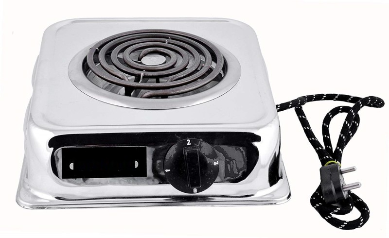 B.N.BRIGHTS BNB-Gcoil Radiant Cooktop(Silver, Jog Dial)