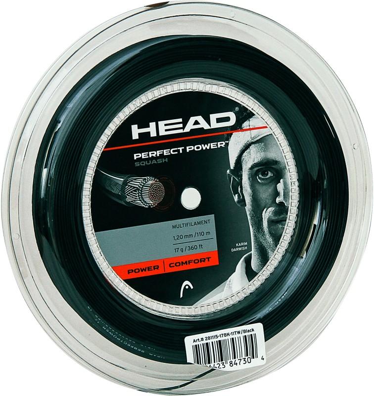 Head Squash Reel Perfect Power 17L 1.2 Squash String - 17 m(Black)