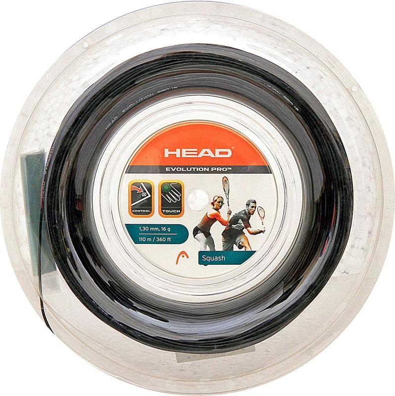 Head Squash Reel Evolution Pro 16L 1.3 Squash String - 16 m(Black)