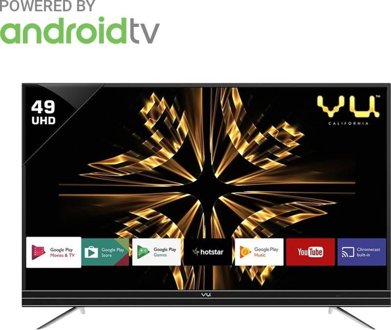 Vu 124cm (49 inch) Ultra HD (4K) LED Smart Android...