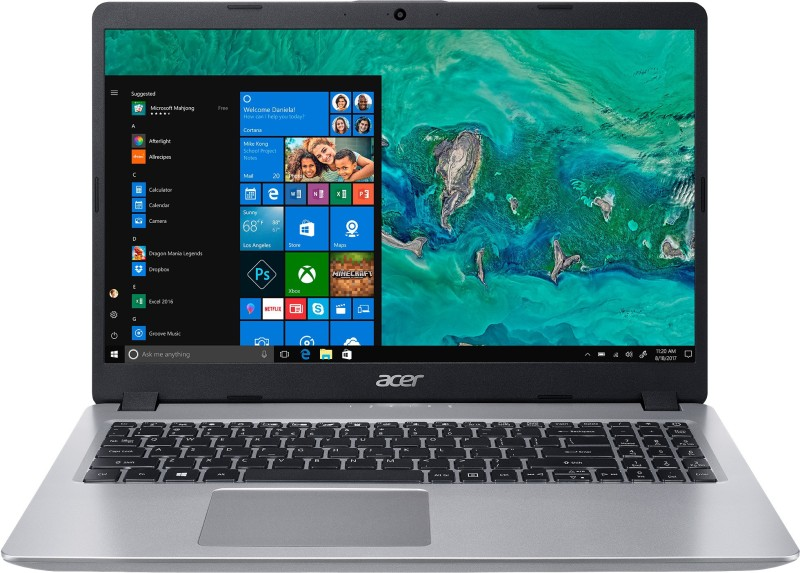 Acer Aspire 5s Core i5 8th Gen - (8 GB/1 TB HDD/Windows 10 Home) A515-52 Laptop(15.6 inch, Sparkly Silver, 1.8 kg)