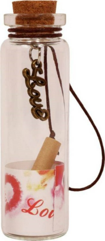 LOVEBIRDS Secret Message Bottle Decorative Bottle(Pack of 1)