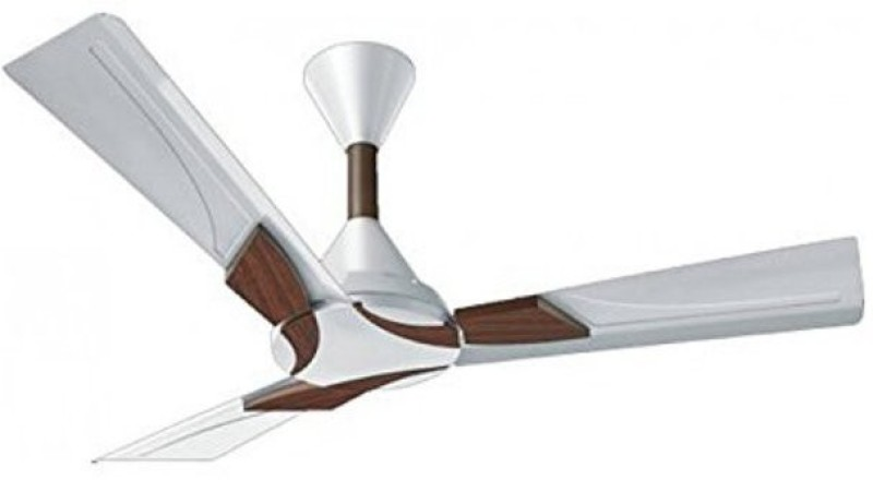 Orient Electric WENDY PEARL WHITE WALNUT WITH REMOTE 1200 mm 3 Blade Ceiling Fan(PEARL WHITE WALNUT, Pack of 1)