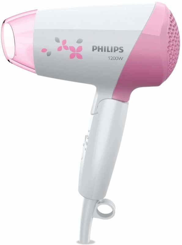 Philips Thermoprotect 1200W Foldable Hair Dryer(1200 W, Pink)