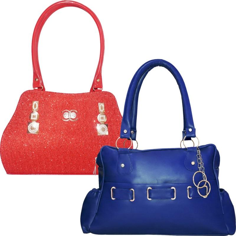 Fillincart Women Red, Blue Messenger Bag