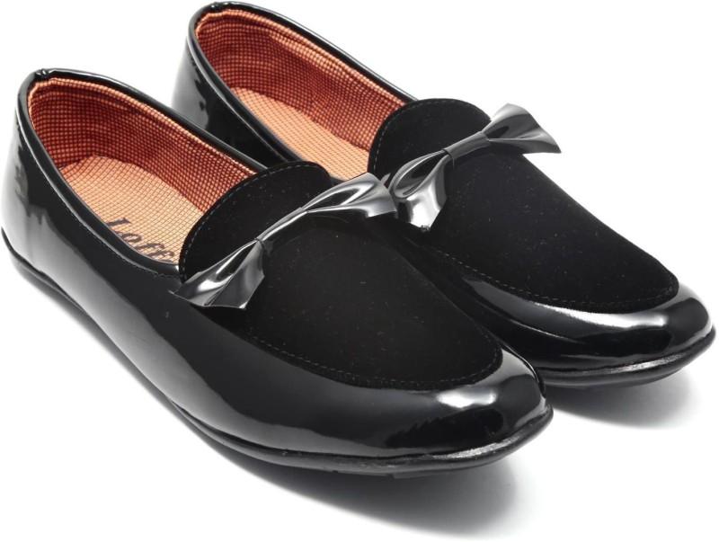 Featkart Stylish Loafers For Men(Black)