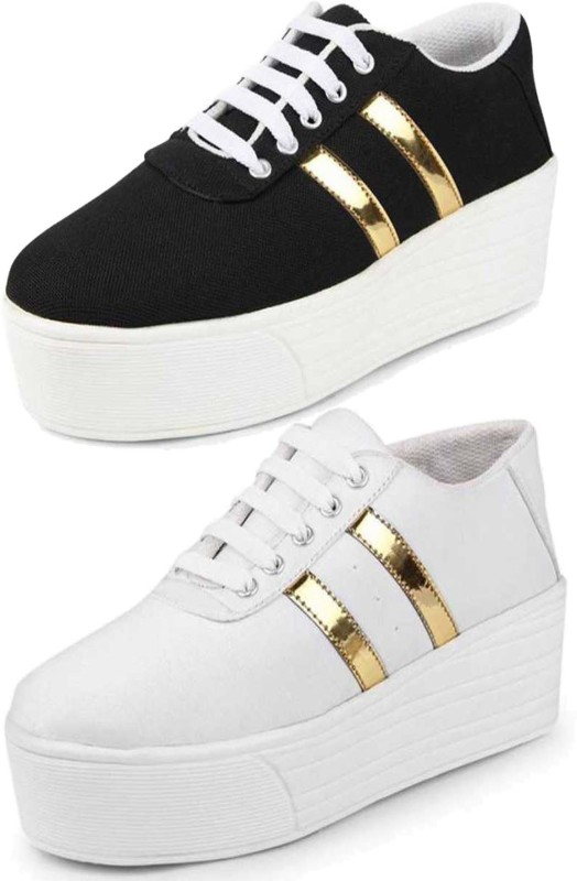 Shoefly Combo-(2)-1044-993 Sneakers For Women(Multicolor)