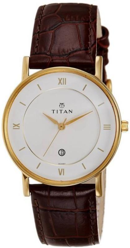 Titan 9162YL01 Classique Analog Watch - For Men