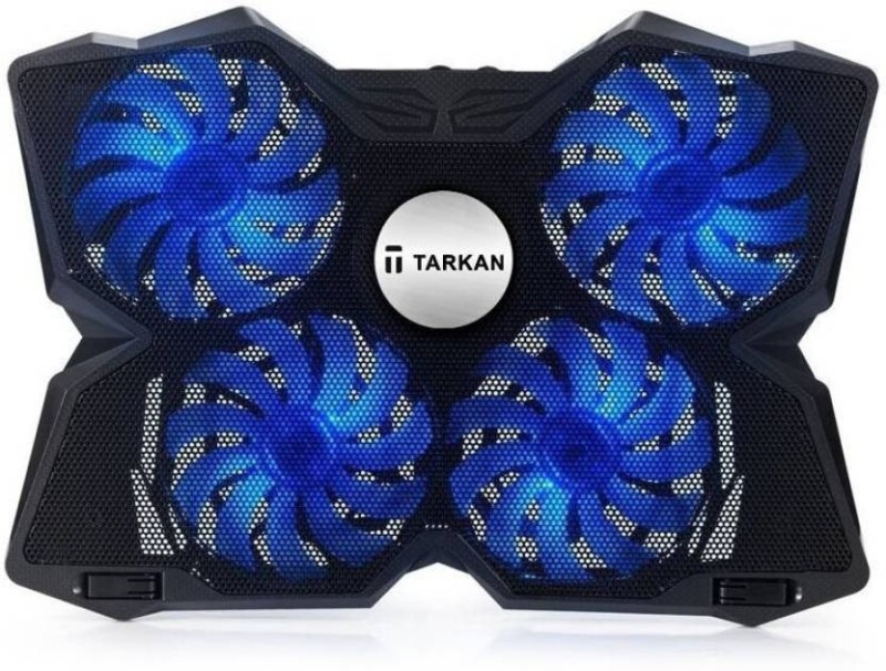 Tarkan 4 Fans 4 Fan Cooling Pad(Black)