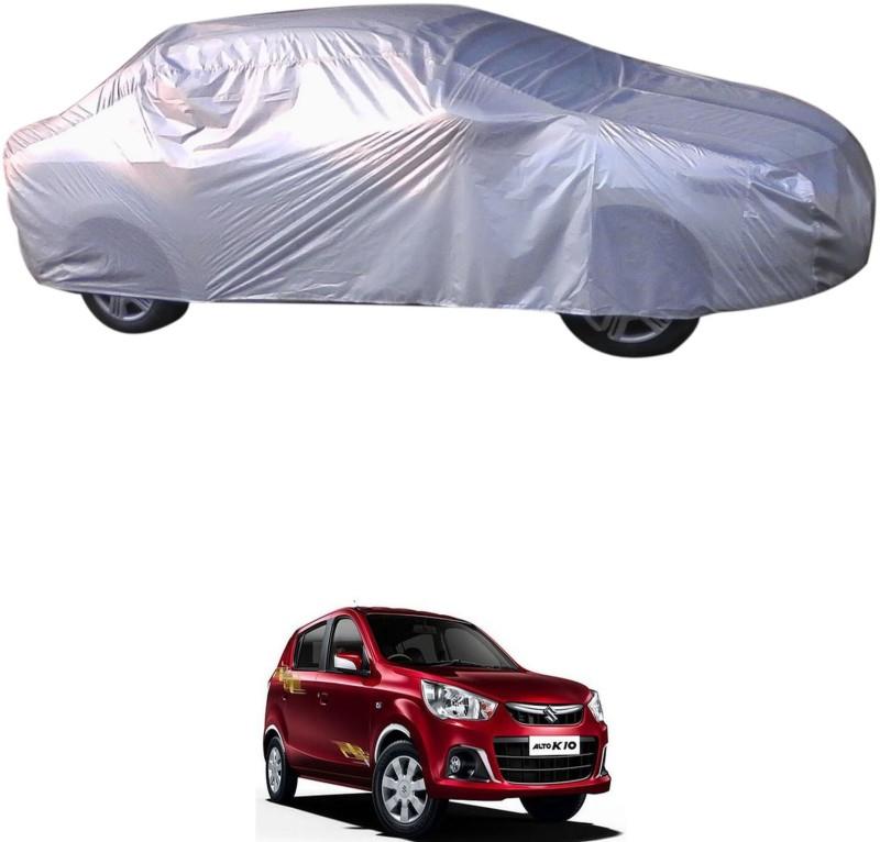 RONISH Car Cover For Maruti Suzuki Alto K10 (Without Mirror Pockets)(Silver)