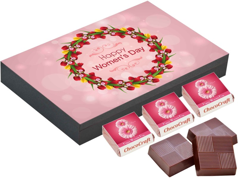 CHOCOCRAFT Women's day gift ideas for employees, 9 Chocolate Gift Box, Gift chocolate boxes Truffles(325 g)