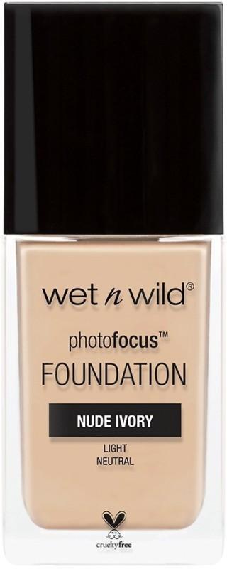 Wet n Wild PHOTO FOCUS FOUNADATION Foundation(NUDE IVORY, 30 ml)