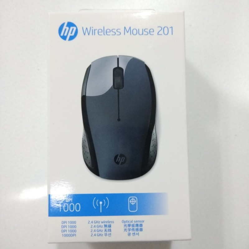HP Wireless 201 Wireless Optical Mouse (USB 2.0, Off Black) Wireless Optical Mouse(USB 2.0, Off Black)