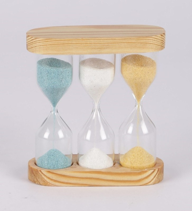 Exim Decor Three Tube Sand Timer Sand Clock