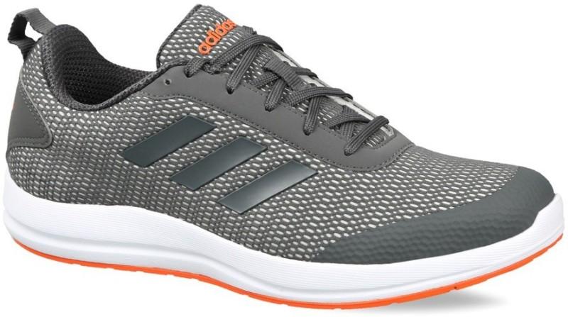 ADIDAS MEN'S ADIDAS RUNNING ADISPREE 5.0 SHOES Running Shoes For Men(Silver, Orange, Grey)