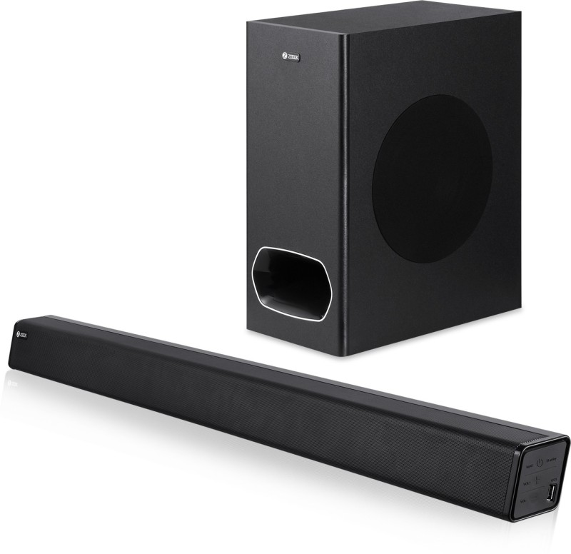 Zoook Rocker Studio One 130 watts 130 W Bluetooth Soundbar(Black, 2.1 Channel)