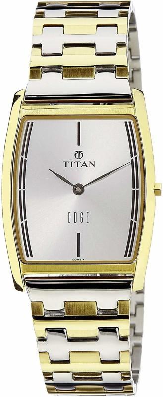 Titan NH1044BM02 Edge Analog Watch - For Men