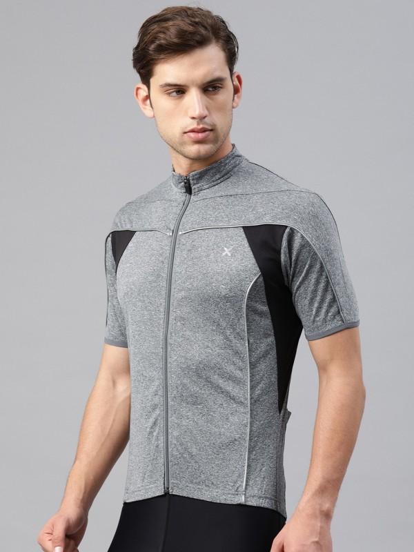 HRX by Hrithik Roshan Short sleeve Color Block Men Jacket