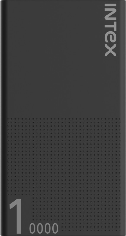 Intex 10000 mAh Power Bank (Fast Charging, 12 W)(Black, Lithium Polymer)