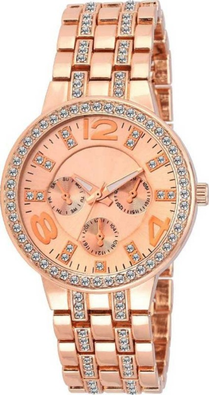 Miss Perfect SL-68 geneva rhinestone diamond studded Watch -For Girls Watch Analog Watch - For Women