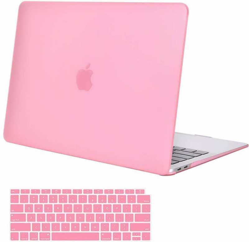 iFyx Front & Back Case for MacBook Air 13 A1932 2018 Touch ID(pink, Laptop Case)
