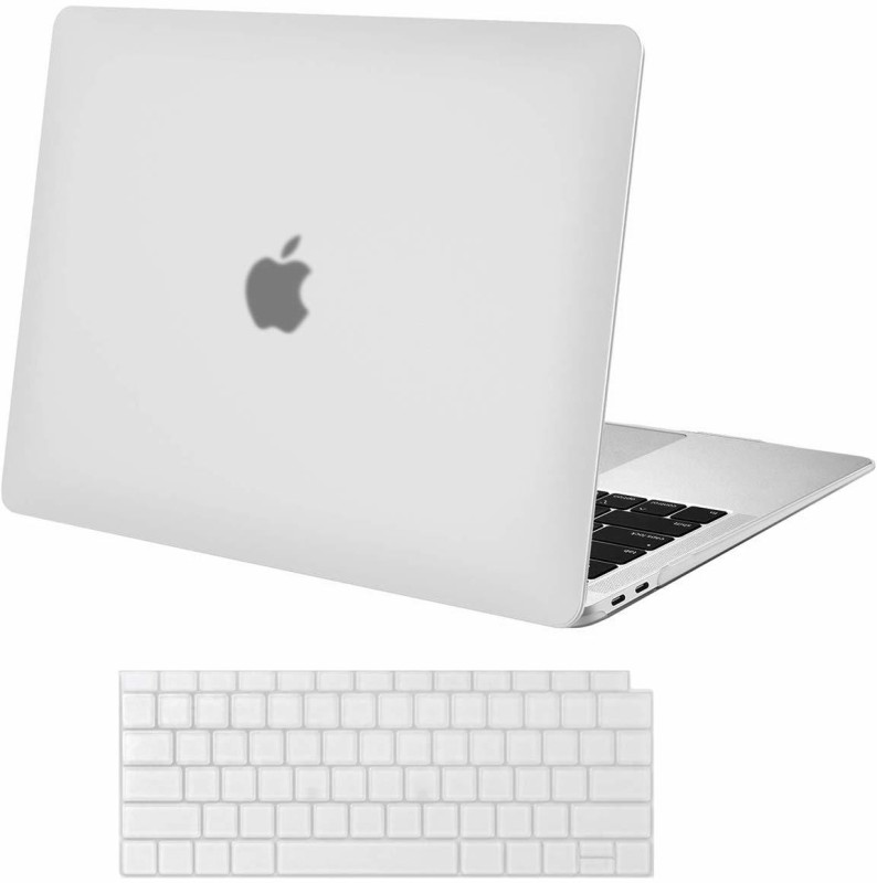 iFyx Front & Back Case for MacBook Air 13 A1932 2018 Touch ID(Transparent, Laptop Case)