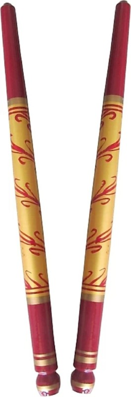 AB WORLD CLASS ABWORLD CLASS Wooden Dandia Sticks Pair for Navratri Celebration (Multicolour) Dandia Sticks(Multicolor)