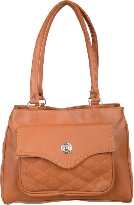 Alps Women Brown Hand-held Bag