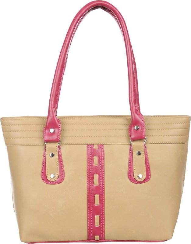 Alps Women Pink, Beige Hand-held Bag
