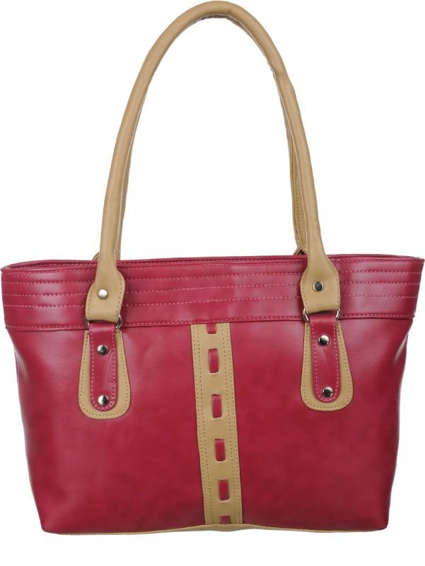 Alps Women Red, Brown Hand-held Bag