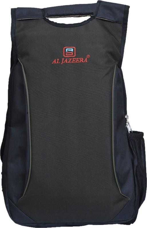 Al Jazeera 17 inch Inch Laptop Backpack(Grey, Black)