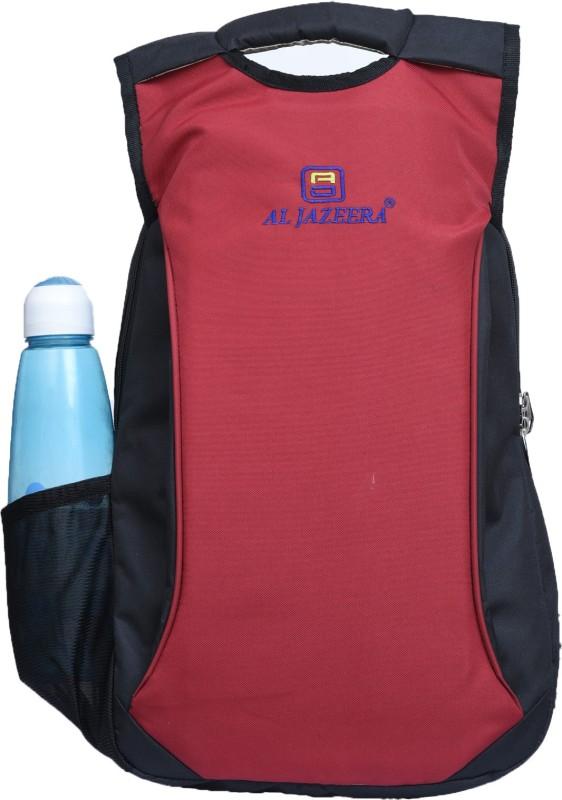 Al Jazeera Unisex Printed Laptop Backpack 20 L Laptop Backpack(Red, Blue)