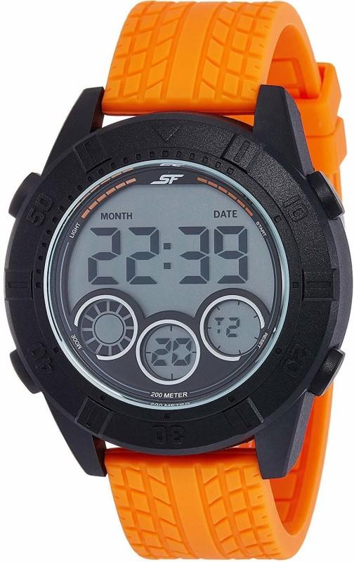 Sonata 77038PP03 Digital Watch - For Men