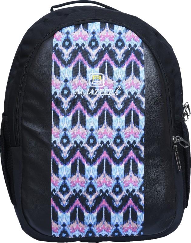 Al Jazeera Unisex Printed Backpack 20 L Backpack(Black, Blue, Pink)
