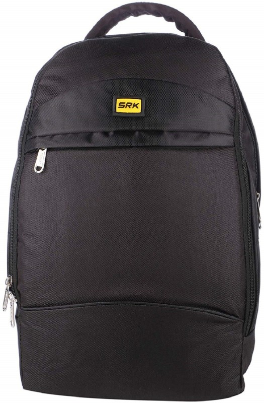 SRK Casual Unisex Laptop Bag School/Collage/Office/Daily Utility/Travelling BAGPACK (Black 5) Backpack(Black, 16 inch)