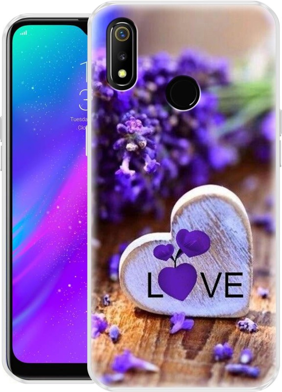 Flipkart SmartBuy Back Cover for Realme 3, Realme 3i(Multicolor 5, Shock Proof, Silicon)