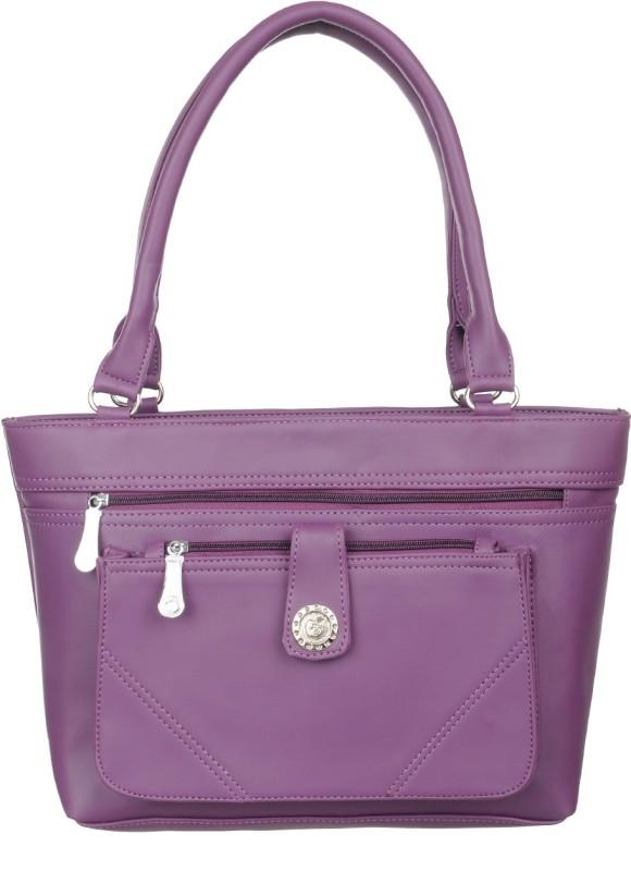 Alps Women Purple Hand-held Bag