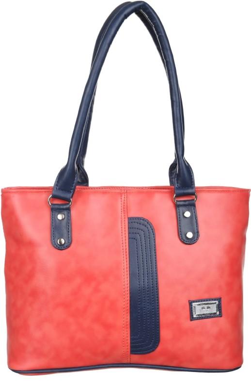 Alps Women Red, Blue Hand-held Bag