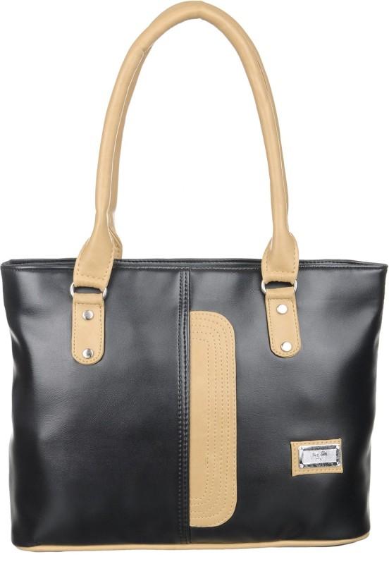 Alps Women Black, Beige Hand-held Bag