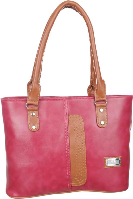 Alps Women Brown, Pink Hand-held Bag