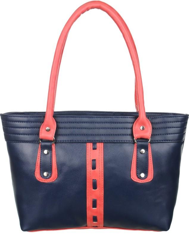 Alps Women Blue, Pink Hand-held Bag