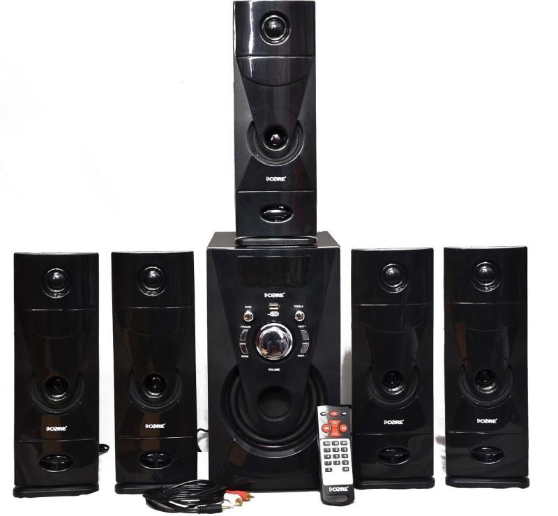 9 CORE TOWER HT-002 5.1 Home Cinema(BLUETOOTH,USB,AUX,FM,MMC CARD)