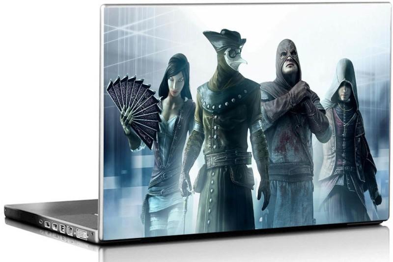 PIXELARTZ Laptop Skin - Assassins Creed Brotherhood - HD Quality - 15.6 Inches 3M Vinyl Paper Laptop Decal 15.6