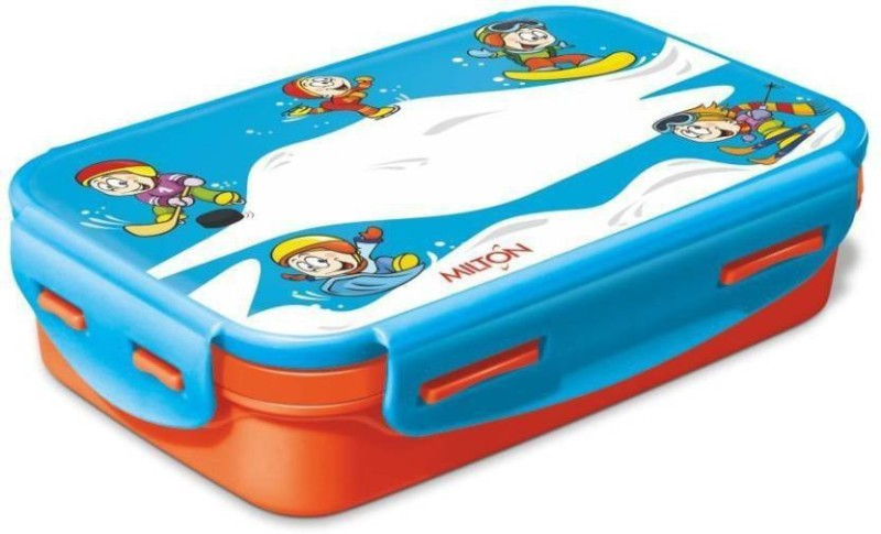 Milton Steely Insulated 2 Containers Lunch Box(525 ml)