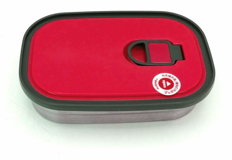 MORGES Stainless Steel Lunch Box For School And Office Use For Kids And Adults, Set Of 2, Pack Of 1 1 Containers Lunch Box(680 ml)
