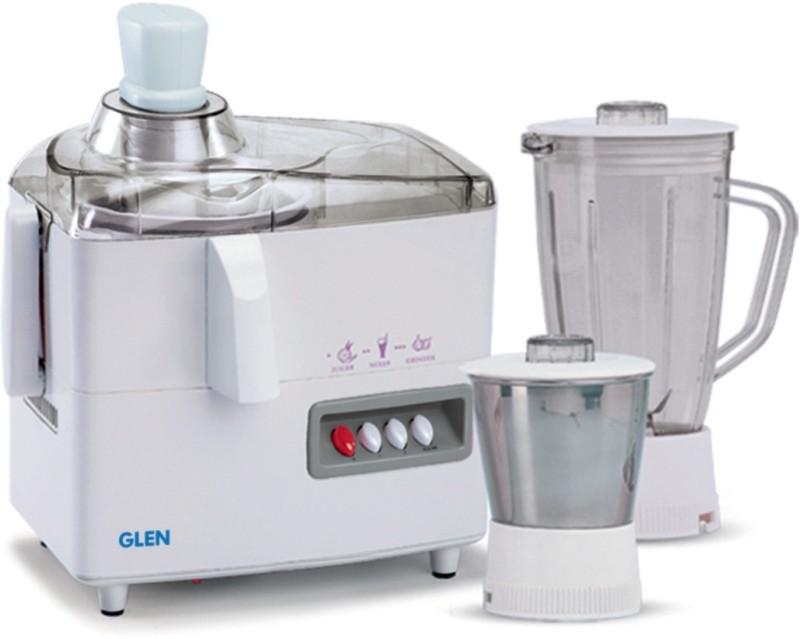 GLEN Juicer Mixer Grinder SA4013JAR2 450 W Juicer Mixer Grinder(White, 2 Jars)