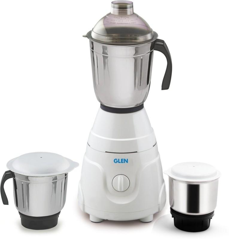 GLEN GL 4021 550 W Mixer Grinder(White, 3 Jars)