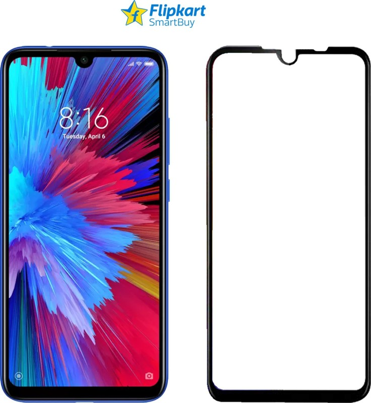 Flipkart SmartBuy Edge To Edge Tempered Glass for Mi Redmi Note 7, Mi Redmi Note 7 Pro, Mi Redmi Note 7S(Pack of 1)