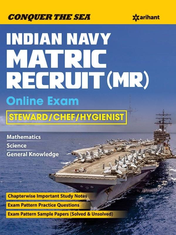 Indian Navy MR & NMR Steward, Cook & Topass Recruitment Exam(English, Paperback, Arihant Experts)