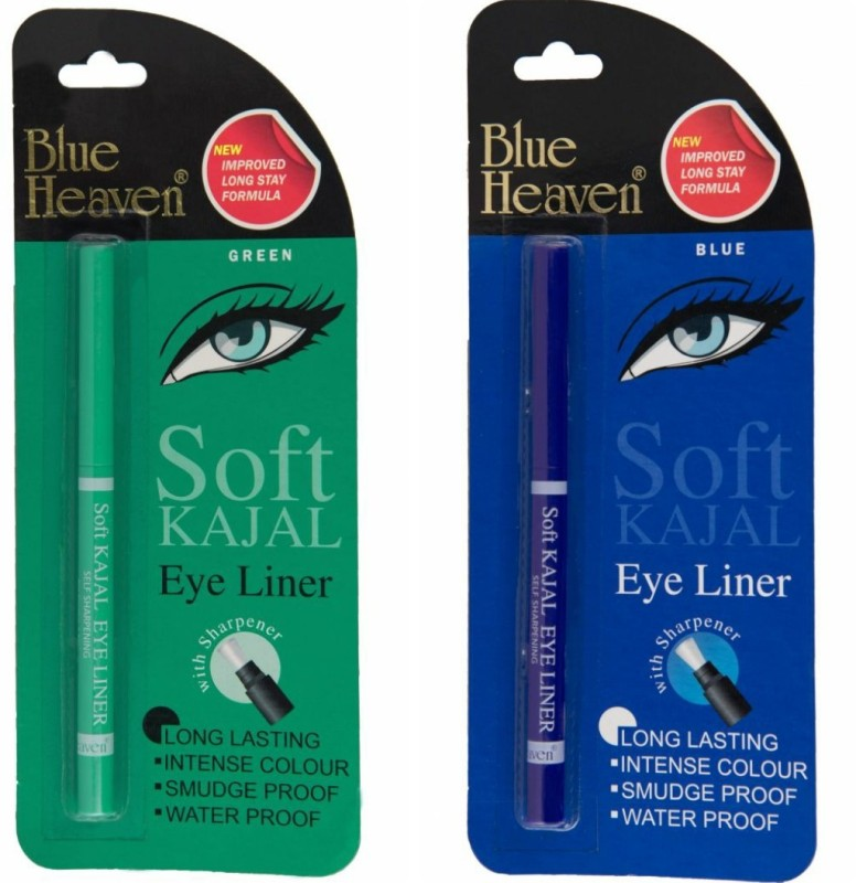 Blue Heaven EYE LINER AS SOFT KAJAL 1 g(BLUE)
